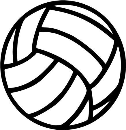 Volleyball Stock Illustratie