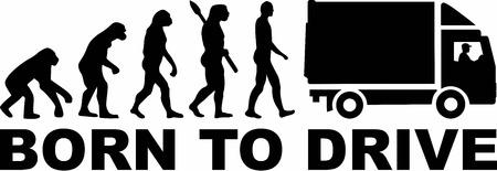 evolucion: Camión Evolución Nacido para conducir