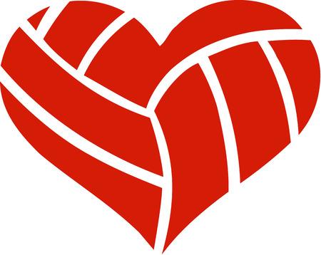 volleyball: Volleyball Heart