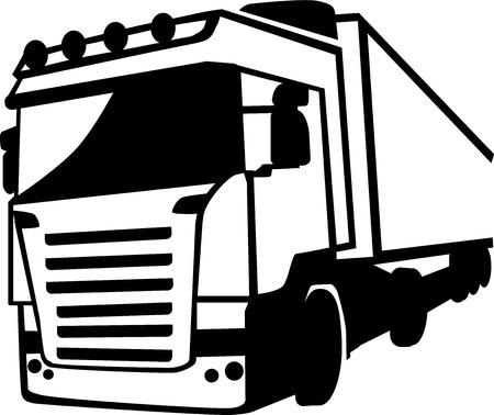 Truck Front Illustration