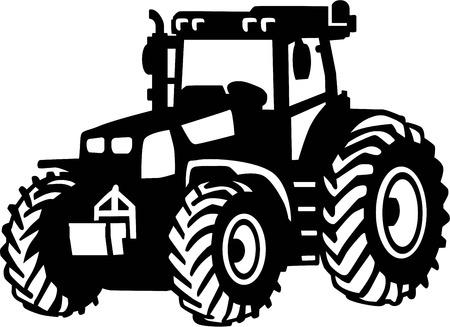 Traktor Farm Ilustracje wektorowe