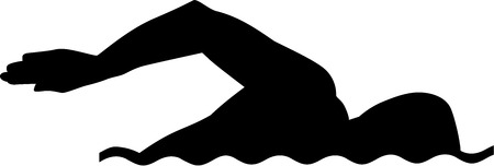 Swimming Silhouette