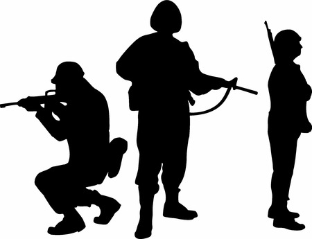 commando: Soldier Group Silhouettes