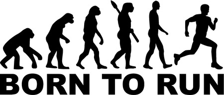 hombres corriendo: Nacido para correr Evoluci�n