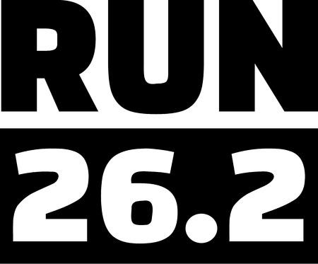 miles: Running 26.2 miles marathon