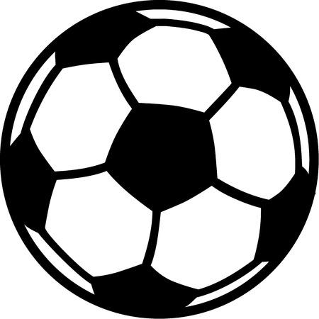 Soccer Football Ball 일러스트