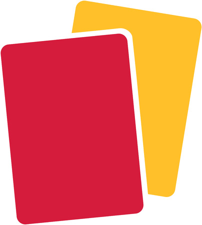 yellow red: Referee Yellow Red Card