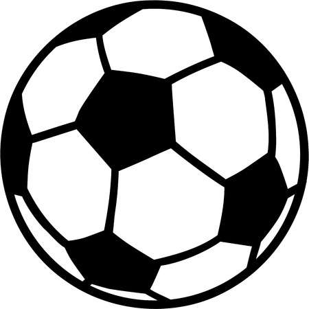 kick ball: Soccer Ball Illustration