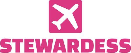 stewardess: Stewardess Button