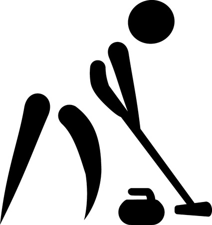 sweeper: Curling Sweeper Icon