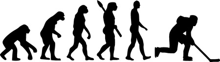 hockey sobre hielo: Hockey Evolución