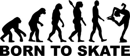 Figure Skating Evolution Born to