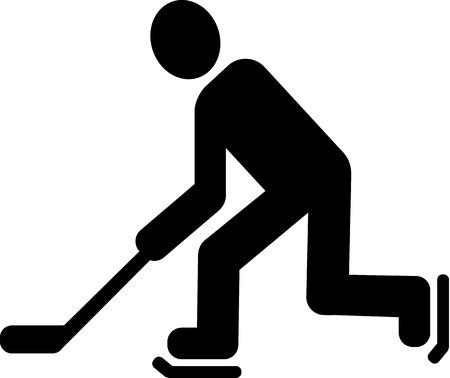 icehockey: Hockey Pictogram