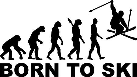 jumping monkeys: Born to Ski Stunt Evolution