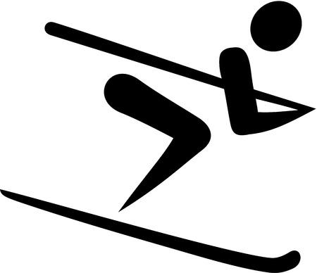 skipiste: Ski Run Icon