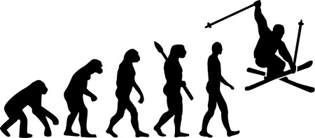 jumping monkeys: Ski Stunt Evolution