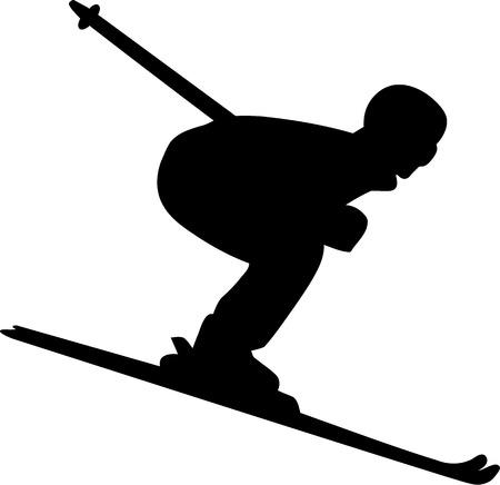 ice slide: Ski Run Men