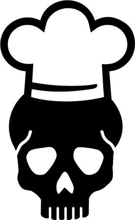 kitchener: Chef Skull
