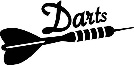 Dart Arrow Darts 일러스트