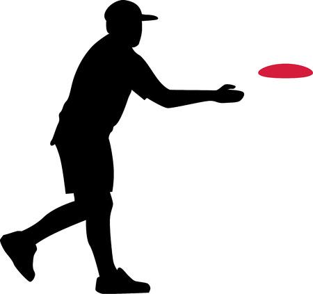 disc golf: Disc Golf Player