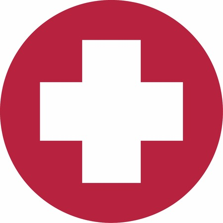 Medical Cross Sign