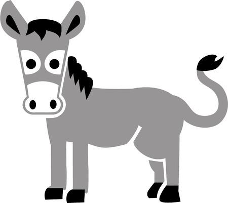 burro: Historieta del burro