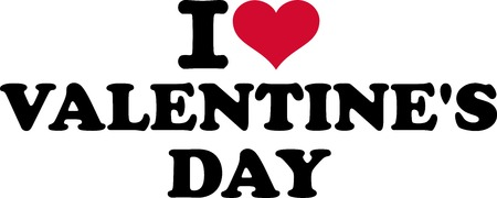 i love you symbol: I Love Valentines Day Illustration