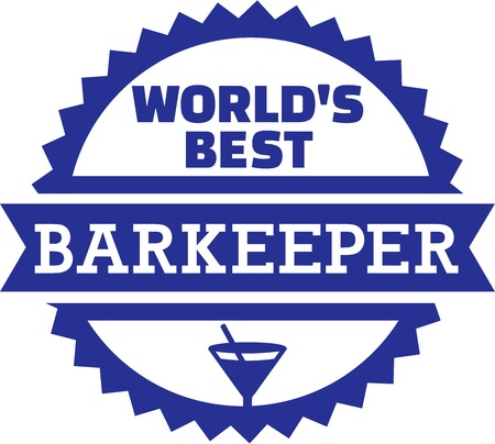 tripple: Worlds Best Barkeeper Bartender Barman