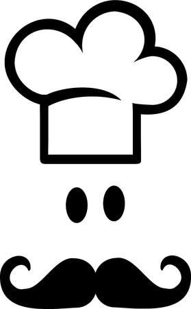 Chefs Hat Cook Illustration