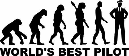 ancestors: Worlds Best Pilot Evolution Illustration
