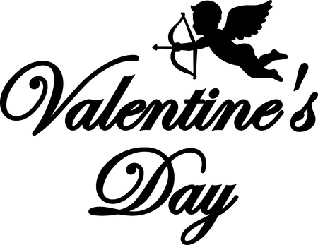 amor: Valentines Day Amor Illustration