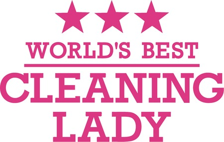 cleaning equipment: Worlds Best Cleaning Lady