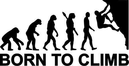 clambering: Born to Climb Evolution
