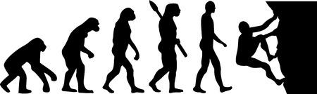 clambering: Climbing man evolution