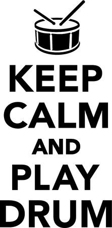 calm: Keep calm and play drum
