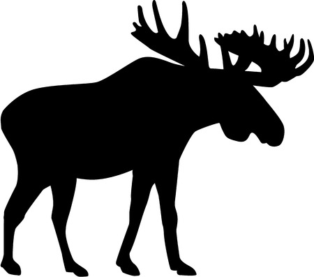 moose: Moose silhouette