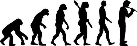 ancestors: Evolution Flute player