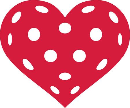 Floorball heart