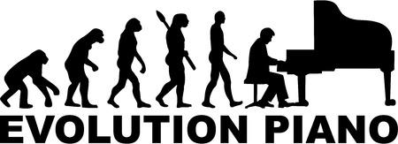 piano player: Evolution of a grand piano player