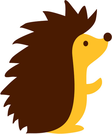 hedgehog: Cute cartoon Hedgehog
