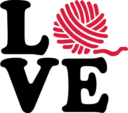 Wol bal breien liefde