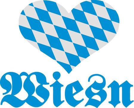wiesn: Wiesn with bavarian heart