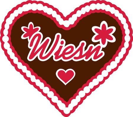 wiesn: Gingerbread Heart wiesn