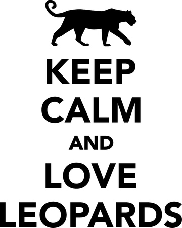 gepard: Keep calm and love leopards