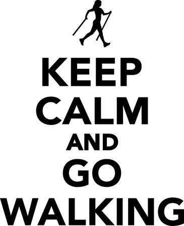 trek: Keep calm and go Walking