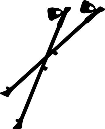 trek: Nordic Walking sticks
