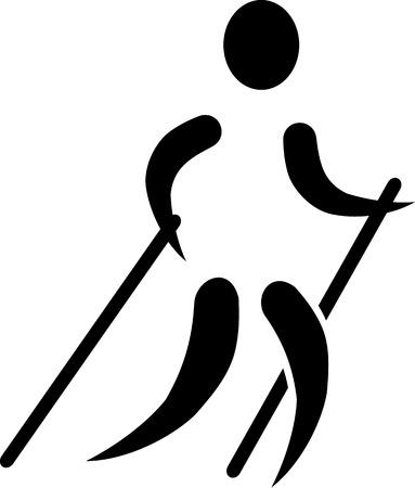 nordic: Nordic Walking icon