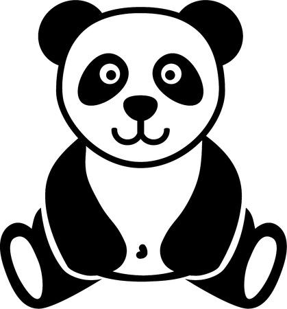 panda bear: Cute Panda bear