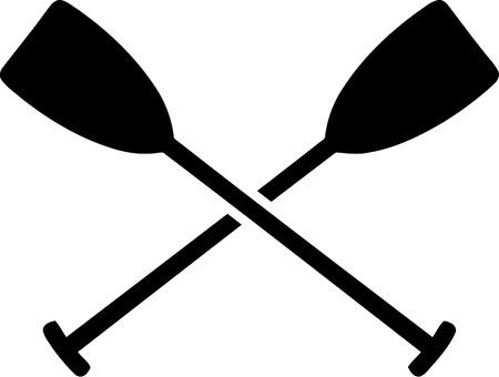 paddles: Paddles crossed