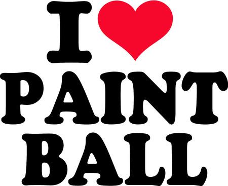I love Paintball